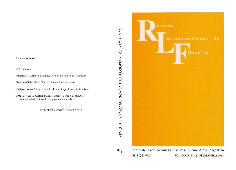 Ver Vol. 39 Núm. 2 (2013)