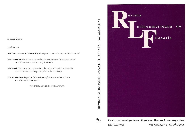 Ver Vol. 39 Núm. 1 (2013)
