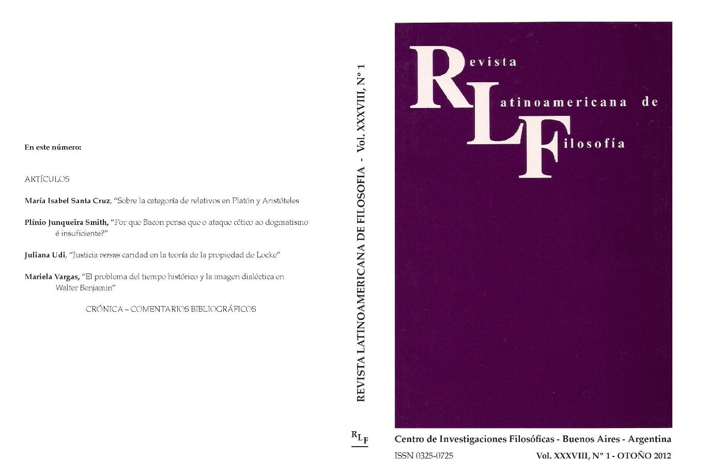 Ver Vol. 38 Núm. 1 (2012)