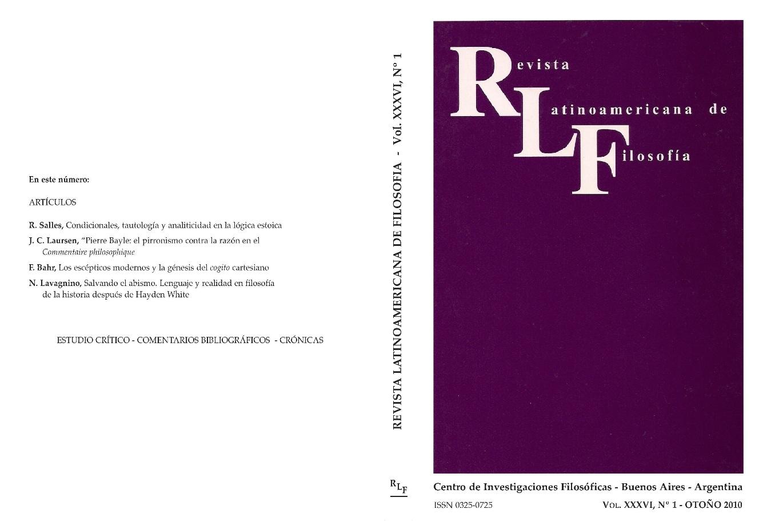 Ver Vol. 36 Núm. 1 (2010)